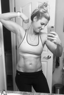 1 year postpartum - 164 pounds